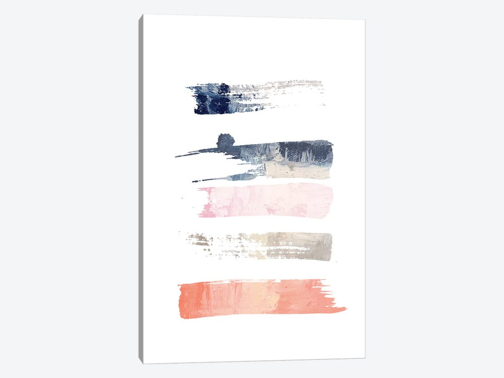 Color Swatches V by Honeymoon Hotel 1-piece Canvas Art