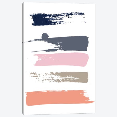 Color Swatches VI Canvas Print #HON60} by Honeymoon Hotel Canvas Art