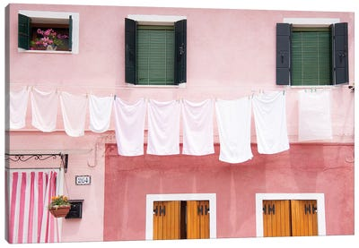 Dirty Laundry Canvas Art Print