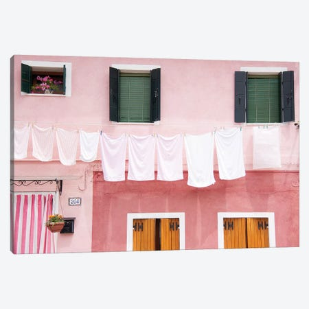 Dirty Laundry 3-Piece Canvas #HON71} by Honeymoon Hotel Canvas Art Print