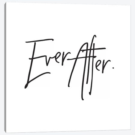 Ever After. Canvas Print #HON84} by Honeymoon Hotel Art Print