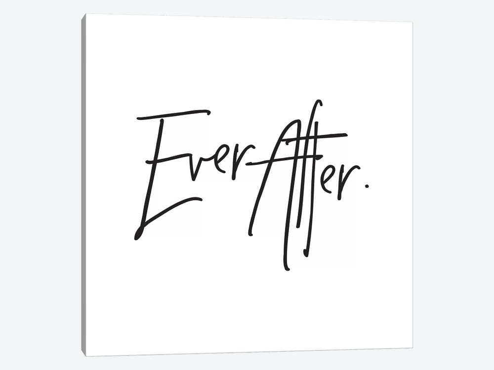 Ever After. by Honeymoon Hotel 1-piece Canvas Wall Art