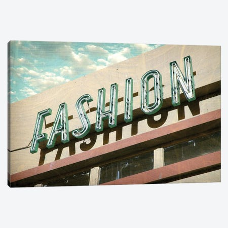 Fashion Canvas Print #HON87} by Honeymoon Hotel Art Print