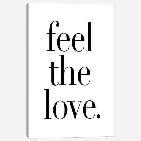 Feel The Love. Canvas Print #HON88} by Honeymoon Hotel Canvas Artwork