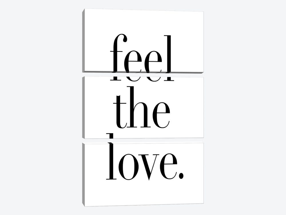 Feel The Love. by Honeymoon Hotel 3-piece Canvas Artwork