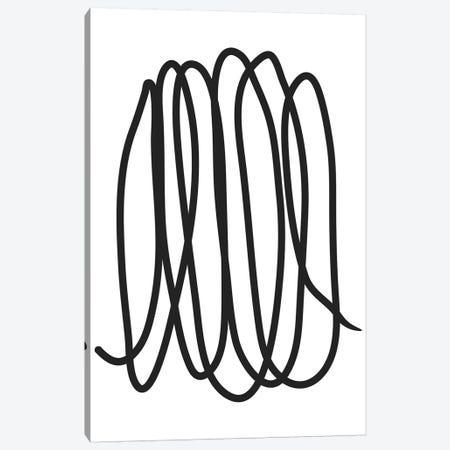 Abstract VI Canvas Print #HON8} by Honeymoon Hotel Canvas Print