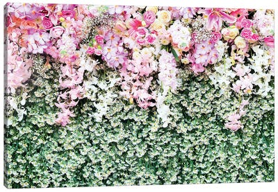 Flower Carpet Canvas Art Print