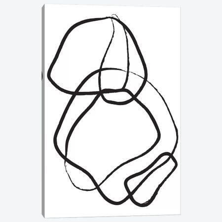 Abstract VII Canvas Print #HON9} by Honeymoon Hotel Canvas Art Print