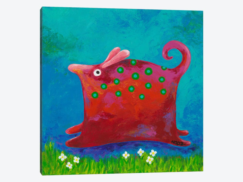 Funny Me by Yvonne Hope 1-piece Canvas Print