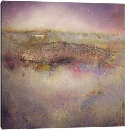 Lavender Horse - Kilburn Canvas Art Print