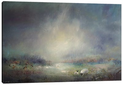Grazing At Thirlmere - Lake District Canvas Art Print