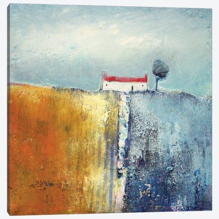 Seaside Cottage Canvas Print #HOU22} by Lisa House Art Print