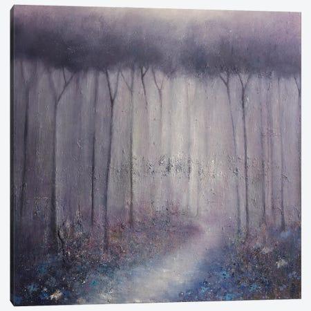 Bluebell Wood Canvas Print #HOU5} by Lisa House Canvas Art