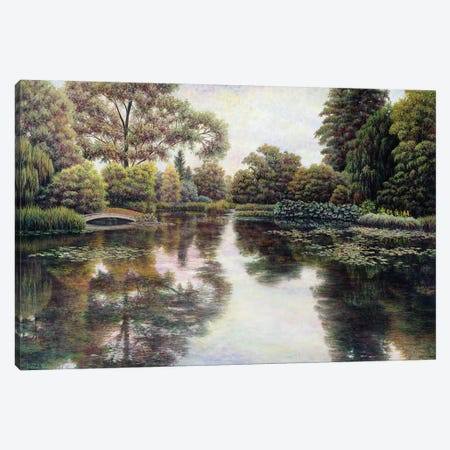 Nature's Tapestry Canvas Print #HOW1} by David Howells Canvas Art Print