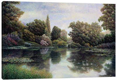 Tranquil Waters Canvas Art Print