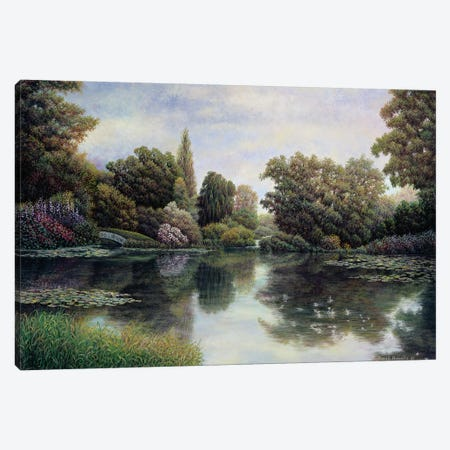 Tranquil Waters Canvas Print #HOW2} by David Howells Canvas Art Print