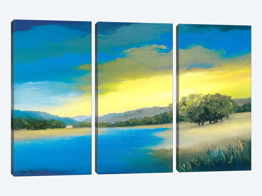 Timeless I by Hans Paus 3-piece Canvas Art