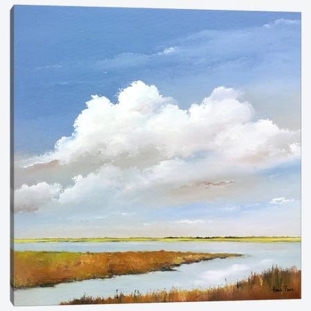 To The Lake I 3-Piece Canvas #HPA103} by Hans Paus Canvas Artwork