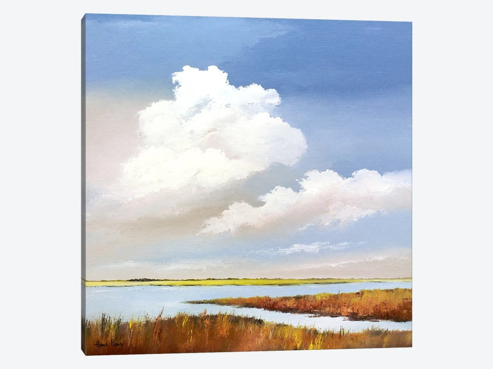 To The Lake II by Hans Paus 1-piece Canvas Wall Art
