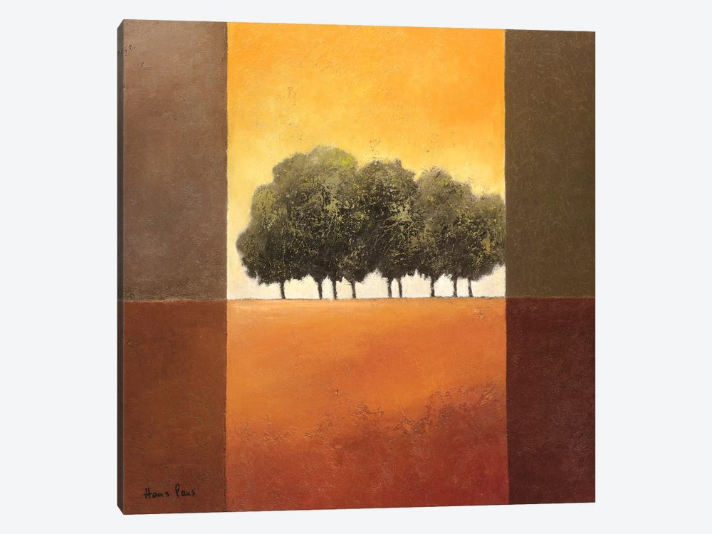 Trees III by Hans Paus 1-piece Canvas Print
