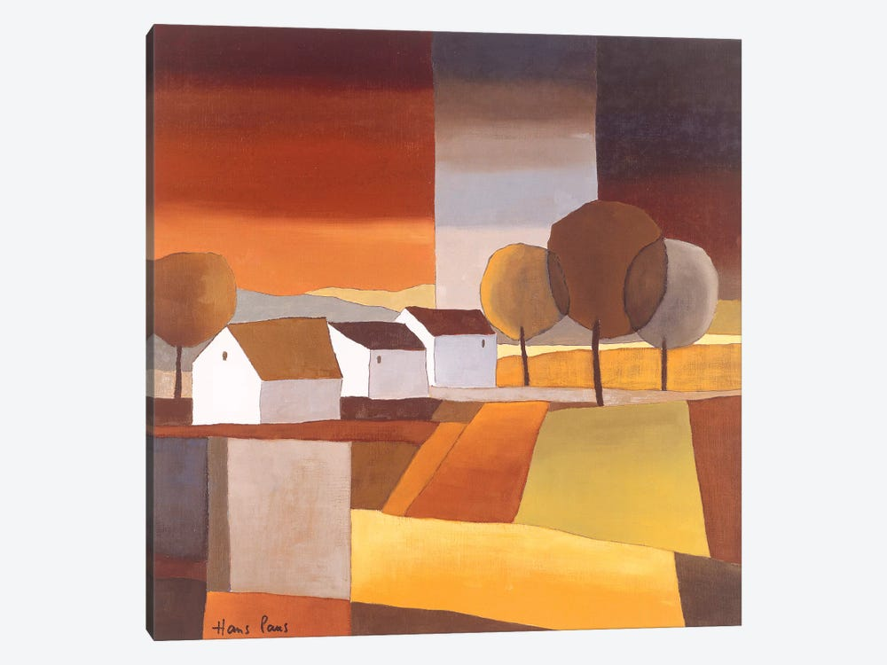Along The Road II by Hans Paus 1-piece Canvas Artwork