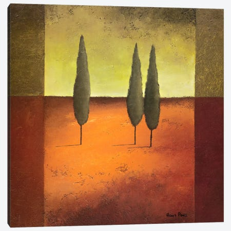 Trees IV Canvas Print #HPA110} by Hans Paus Canvas Print