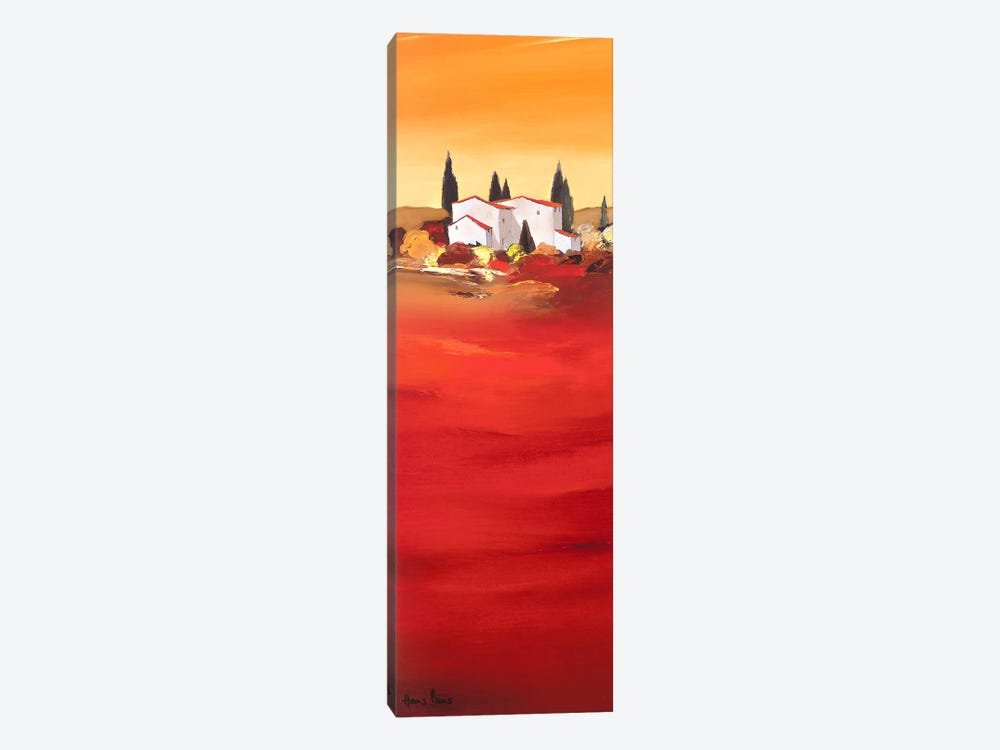 Tuscan Red I by Hans Paus 1-piece Canvas Wall Art