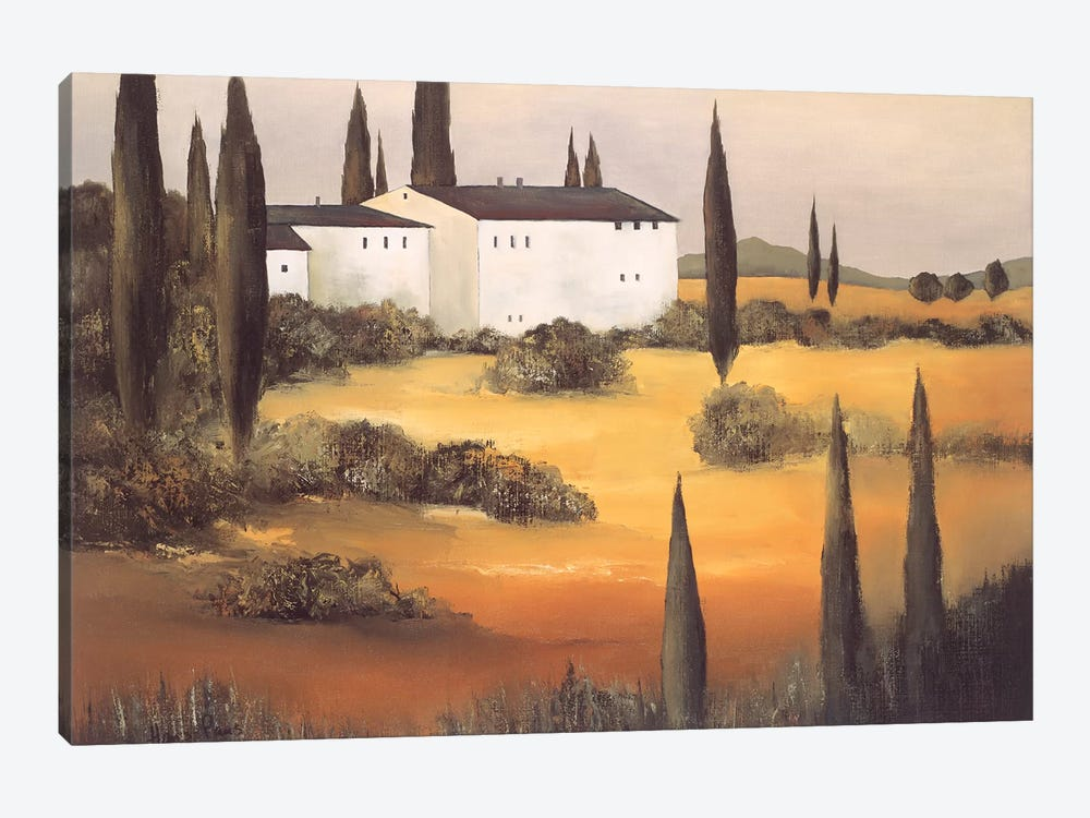 Twilight I by Hans Paus 1-piece Canvas Art
