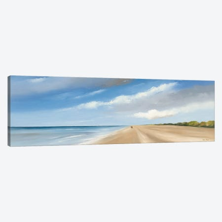 Along The Sea I Canvas Print #HPA11} by Hans Paus Canvas Print