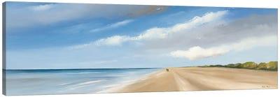 Along The Sea I Canvas Art Print