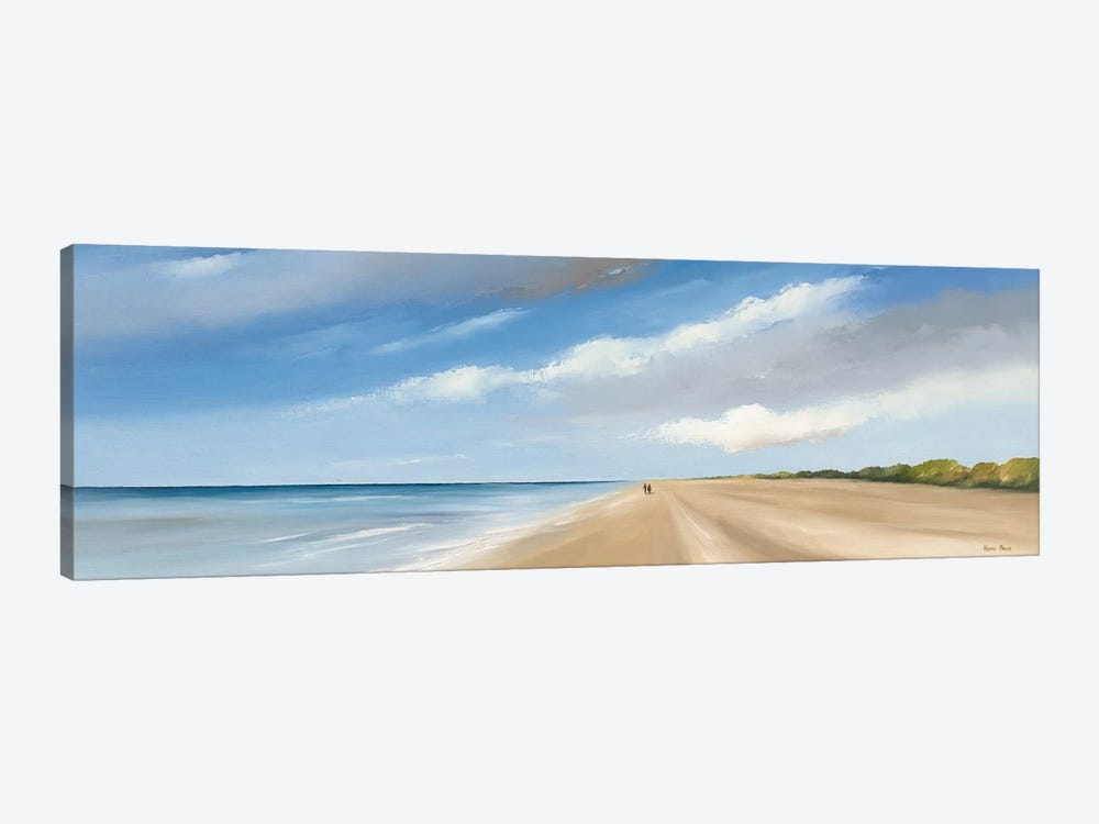 Along The Sea I by Hans Paus 1-piece Canvas Print