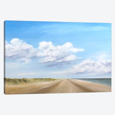Walking IV Canvas Print #HPA127} by Hans Paus Art Print