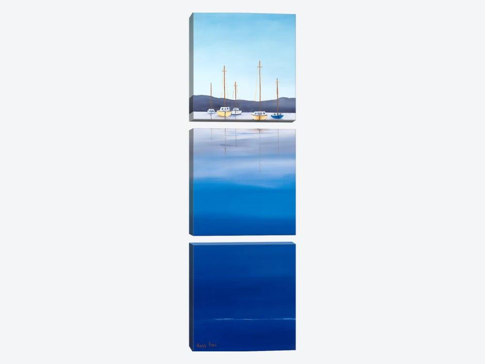 Waterline I by Hans Paus 3-piece Canvas Art