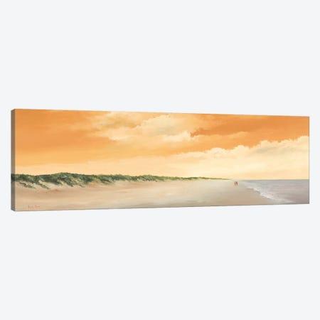 Along The Sea II Canvas Print #HPA12} by Hans Paus Art Print