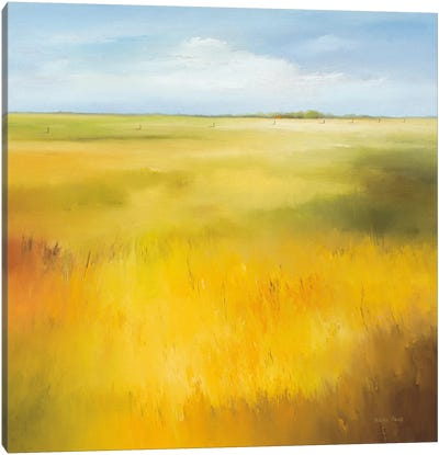 Yellow Field I Canvas Art Print