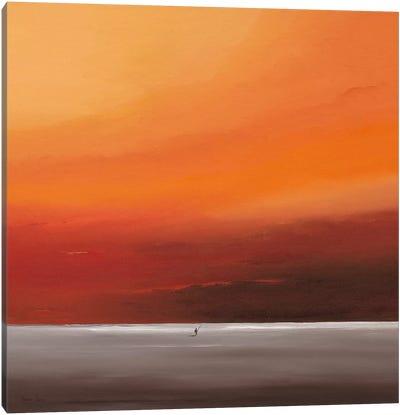 Attractive Red I Canvas Art Print