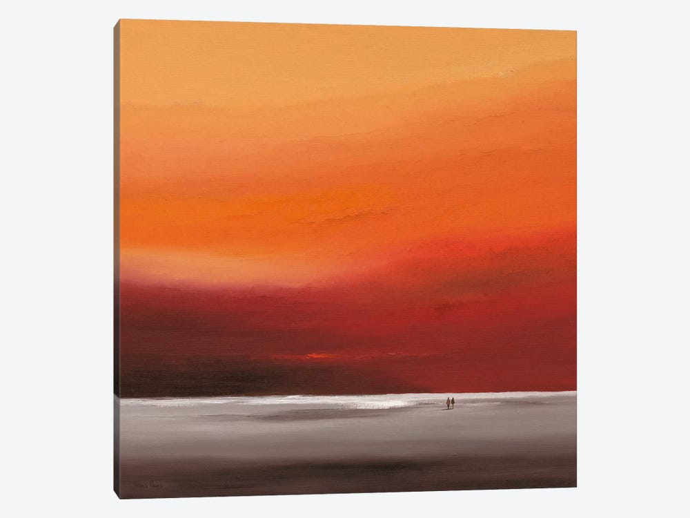 Attractive Red II by Hans Paus 1-piece Canvas Art