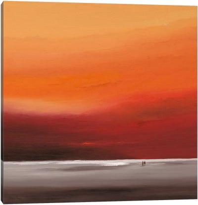 Attractive Red II Canvas Art Print
