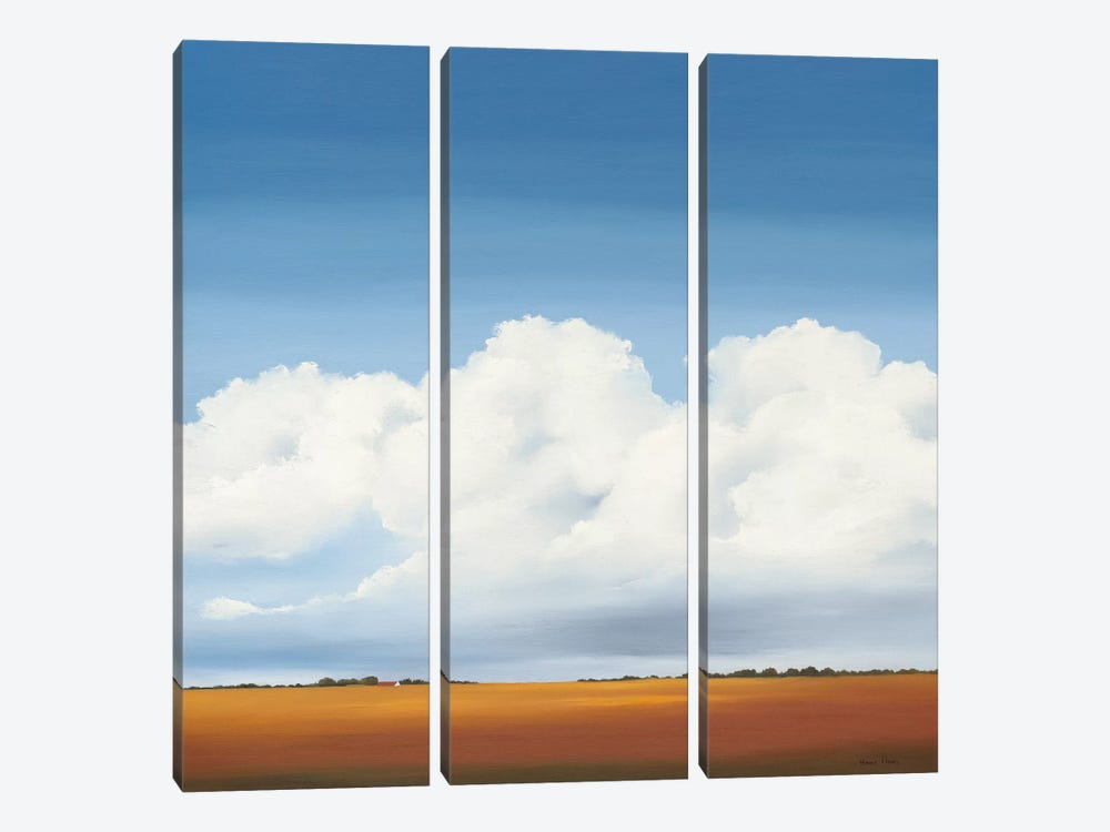 Clouds I by Hans Paus 3-piece Canvas Art Print
