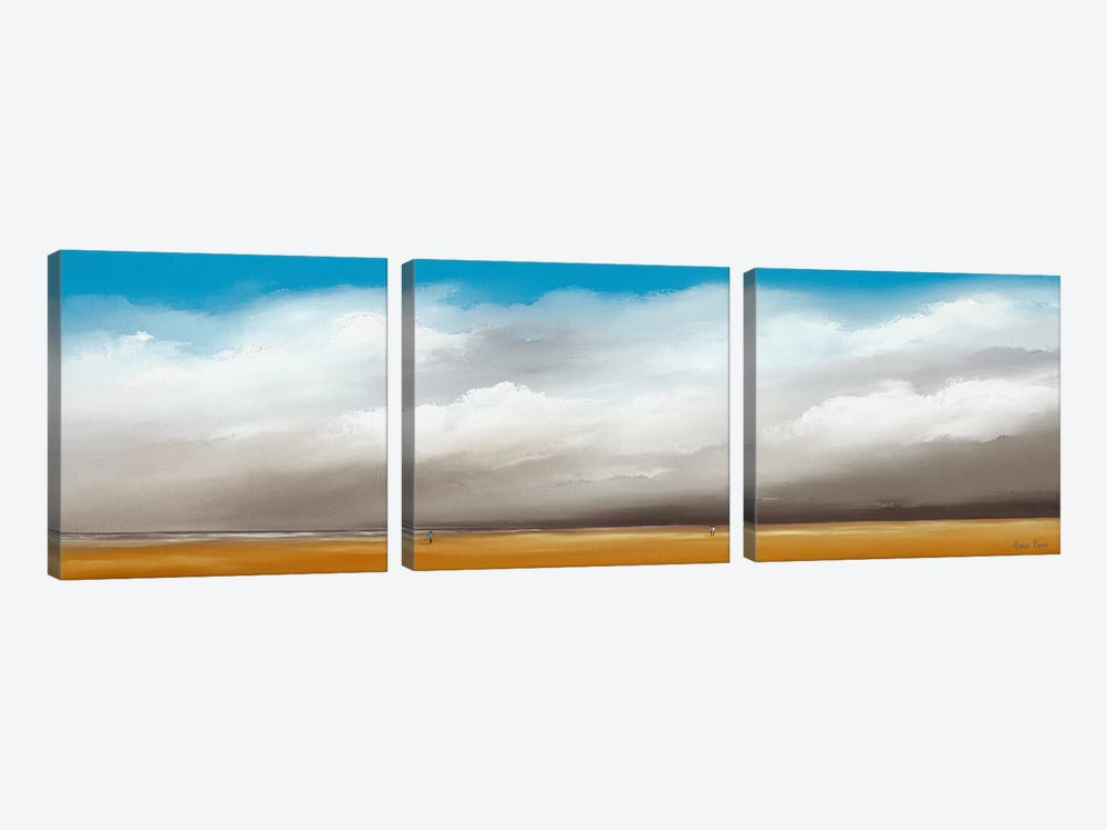 Clouds III by Hans Paus 3-piece Canvas Art Print