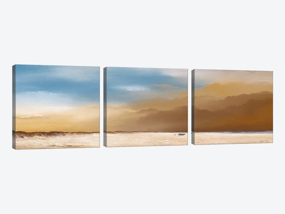 Clouds IV by Hans Paus 3-piece Canvas Print