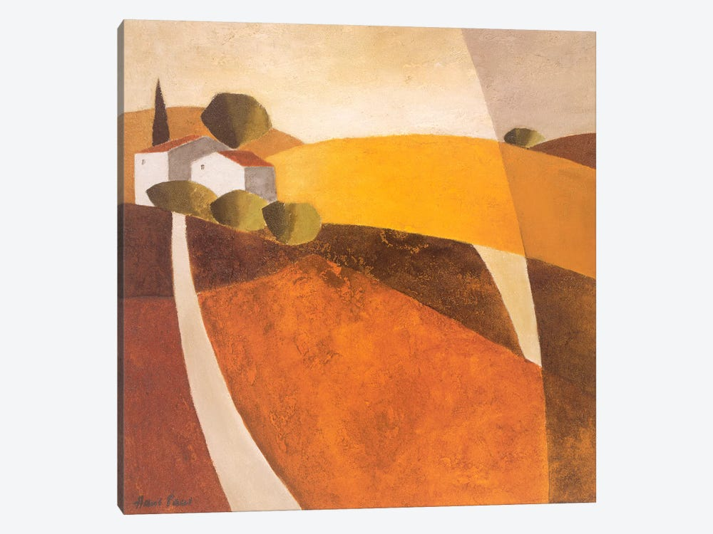 Country Road I by Hans Paus 1-piece Canvas Artwork