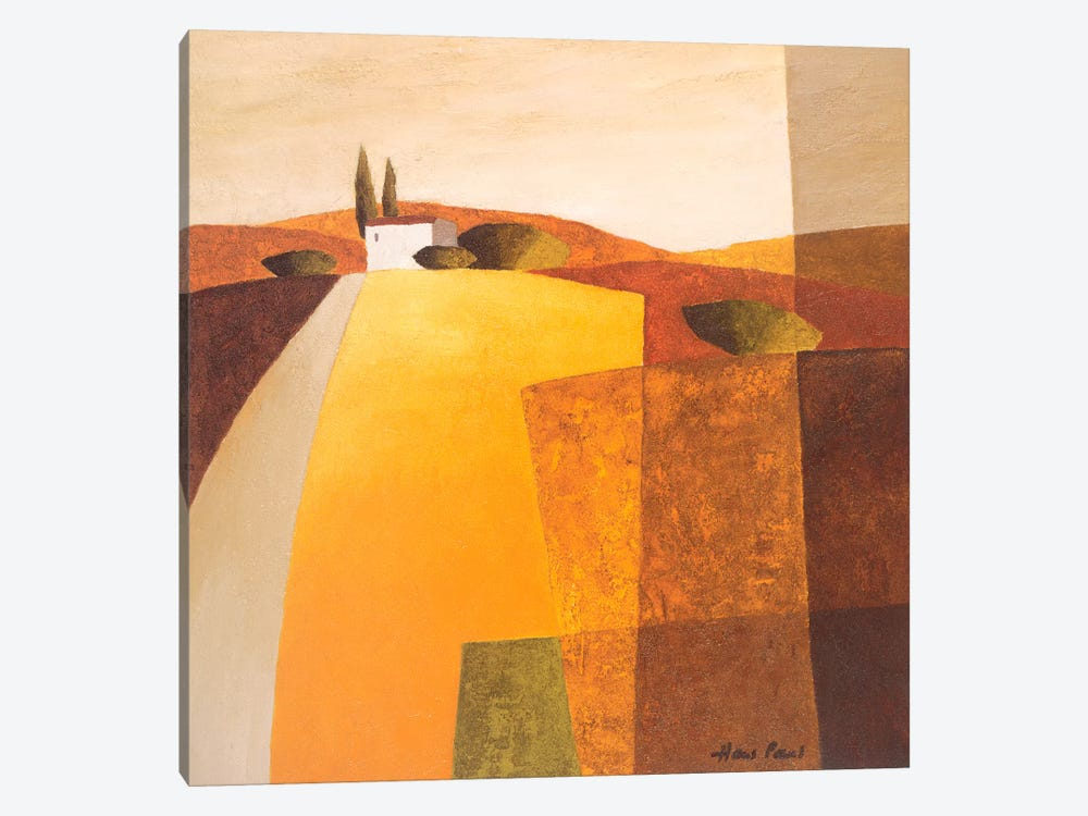 Country Road III by Hans Paus 1-piece Canvas Art