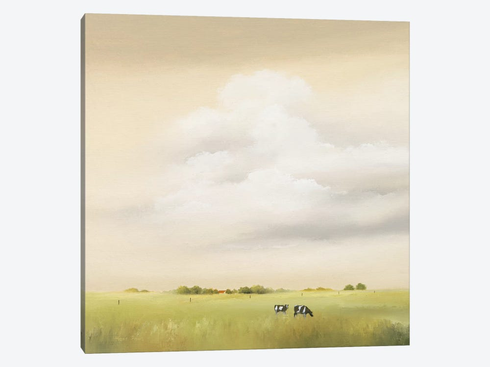 Cows I by Hans Paus 1-piece Canvas Art