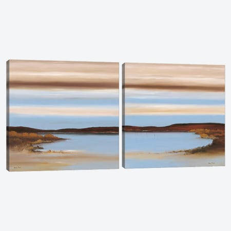 Luminous Diptych Canvas Print Set #HPA2HSET002} by Hans Paus Art Print