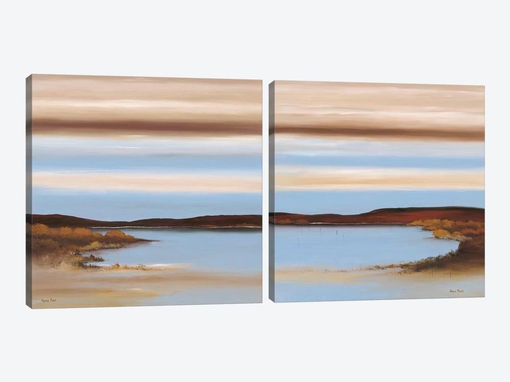 Luminous Diptych by Hans Paus 2-piece Canvas Art