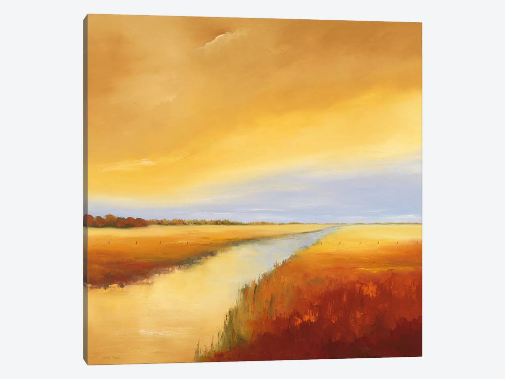 Down The River IV by Hans Paus 1-piece Canvas Art