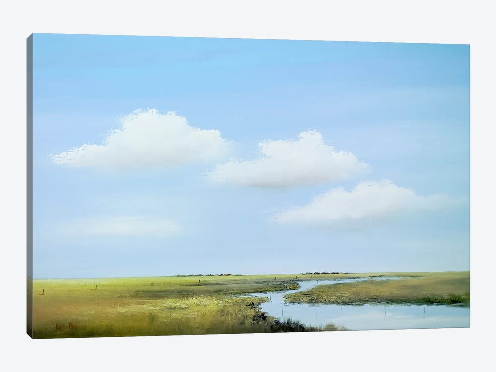 Down The River V by Hans Paus 1-piece Canvas Print