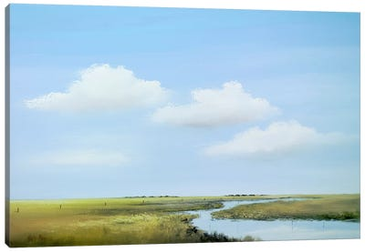 Down The River V Canvas Art Print
