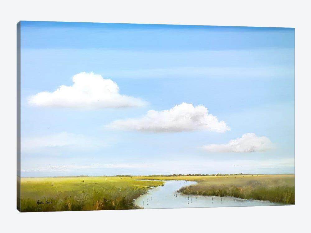Down The River VI by Hans Paus 1-piece Canvas Art